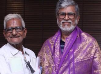 இயக்குனர் எஸ்.ஏ.சந்திரசேகரனுடன் ட்ராபிக் ராமசாமி சந்திப்பு..!